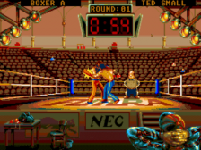 Kick Boxing, The ingame screenshot