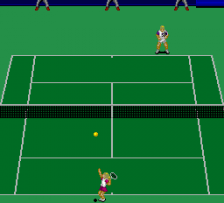 Power Tennis ingame screenshot