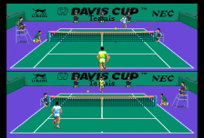 Davis Cup Tennis ingame screenshot