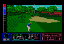 Jack Nicklaus' Turbo Golf ingame screenshot