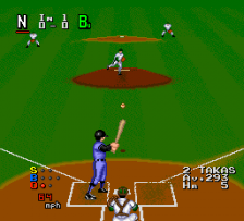 World Class Baseball ingame screenshot