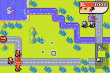 Advance Wars 2 - Black Hole Rising ingame screenshot