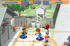 Backyard Basketball ingame screenshot