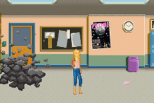 Barbie Diaries, The - High School Mystery ingame screenshot