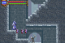 Castlevania - Aria of Sorrow ingame screenshot