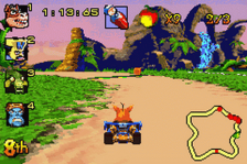 Crash Nitro Kart ingame screenshot