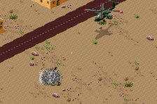 Desert Strike Advance ingame screenshot