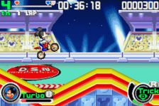Disney Sports - Motocross ingame screenshot