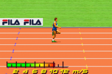 FILA Decathlon ingame screenshot
