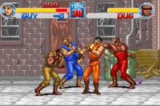 Final Fight One ingame screenshot