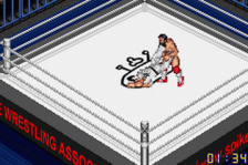 Fire Pro Wrestling ingame screenshot