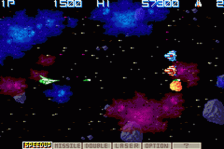 Gradius Galaxies ingame screenshot