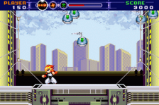 Gunstar Super Heroes ingame screenshot