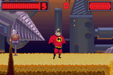 Incredibles, The - Rise of the Underminer ingame screenshot