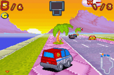 Inspector Gadget Racing ingame screenshot