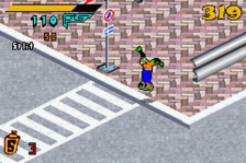 Jet Grind Radio ingame screenshot