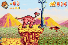 Land Before Time, The - Into the Mysterious Beyond ingame screenshot