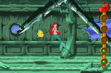 Little Mermaid, The - Magic in Two Kingdoms ingame screenshot