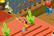 Looney Tunes - Back in Action ingame screenshot