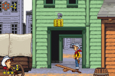Lucky Luke - Wanted! ingame screenshot