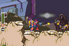 Mega Man Zero ingame screenshot