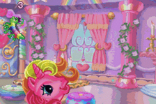 My Little Pony - Crystal Princess - The Runaway Rainbow ingame screenshot