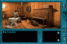 Nancy Drew - Message in a Haunted Mansion ingame screenshot