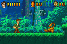 Pitfall - The Lost Expedition ingame screenshot