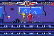 Power Rangers - Time Force ingame screenshot