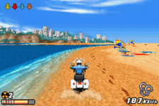 Road Rash - Jailbreak ingame screenshot