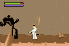 Samurai Jack - The Amulet of Time ingame screenshot