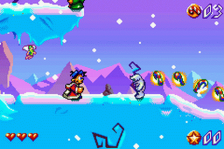 Santa Claus Jr. Advance ingame screenshot