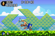 Sonic Advance 2 ingame screenshot
