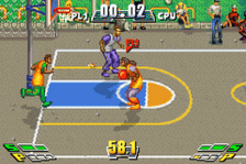 Street Jam Basketball ingame screenshot