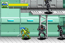 Teenage Mutant Ninja Turtles ingame screenshot