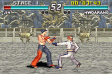 Tekken Advance ingame screenshot