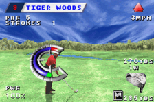 Tiger Woods PGA Tour Golf ingame screenshot