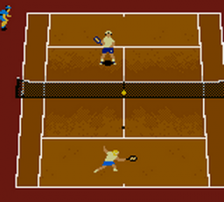 All Star Tennis 2000 ingame screenshot