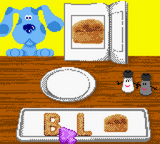 Blue's Clues - Blue's Alphabet Book ingame screenshot