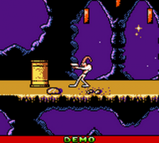 Earthworm Jim - Menace 2 the Galaxy ingame screenshot