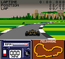Formula One 2000 ingame screenshot