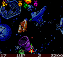 Galaga - Destination Earth ingame screenshot