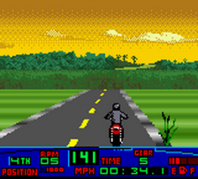 Harley-Davidson Motor Cycles - Race Across America ingame screenshot