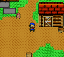 Harvest Moon 3 GBC ingame screenshot