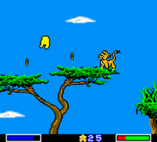 Lion King, The - Simba's Mighty Adventure ingame screenshot
