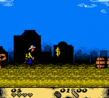 Lucky Luke - Desperado Train ingame screenshot