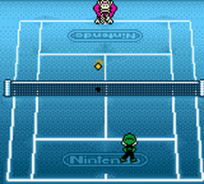 Mario Tennis ingame screenshot