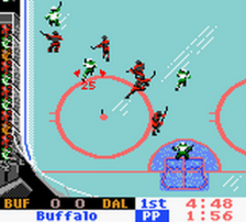 NHL 2000 ingame screenshot
