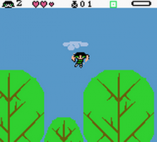 Powerpuff Girls, The - Paint the Townsville Green ingame screenshot