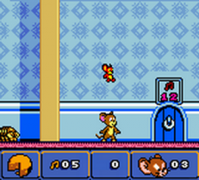 Tom and Jerry in Mouse Attacks! ingame screenshot